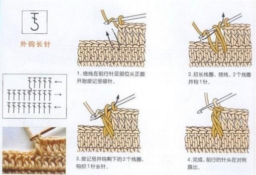 вязание крючком 1